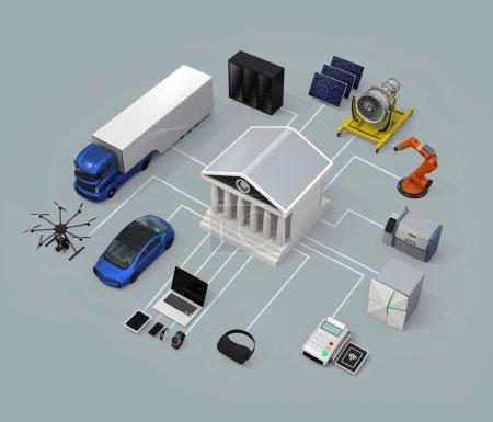 Data exchange marketplace concept