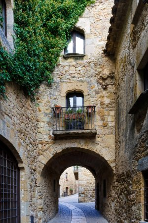 Medieval village of Pals, Costa Brava,Spain,Europe