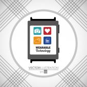 Technology  concept with gadget icon design vector illustration 10 eps graphic