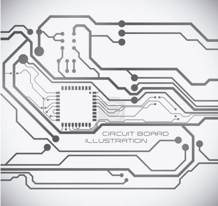Illustration for Circuit graphic design , vector illustration - Royalty Free Image