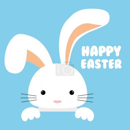 Illustration for Happy easter design, vector illustration eps10 graphic - Royalty Free Image