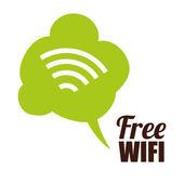Wi-fi design, vektorové ilustrace