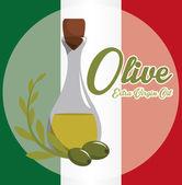 Olivový olej designu