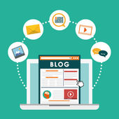 Blog blogging and blogglers theme