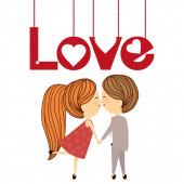 Láska ikony designu