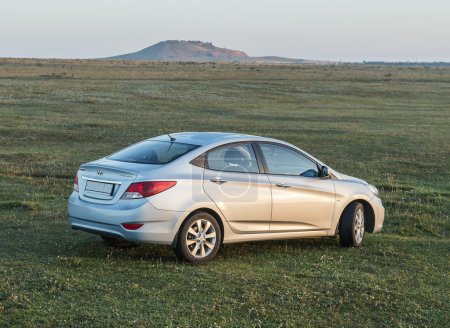 Car Hyundai Accent.