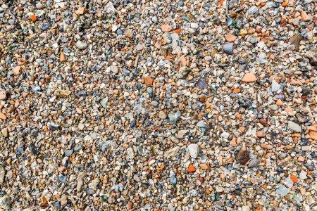 Photo pour Photo de pierres de gravier pour les textures de fond - image libre de droit