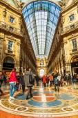Galleria Vittorio Emanuele II in Milan, Italy