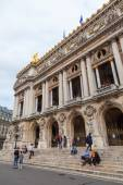 Frontside of the Palais Garnier in Paris, France