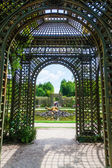Historical garden of the Palace of Versailles, France