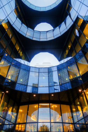 Office building of PricewaterhouseCoopers in London, UK