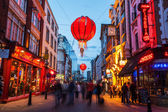 Chinatown in London at night