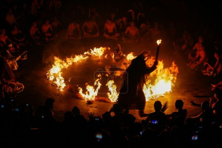 Kecak Fire Dance, Bali Island