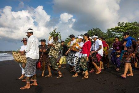 Nyaben ceremony, Bali Island