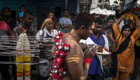 Thaipusam rituals