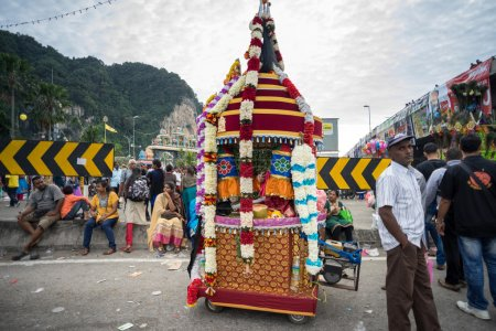 Thaipusam festival at Batu Caves, Malaysia