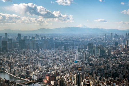 Photo for View of Tokyo from Tokyo Skytree - Royalty Free Image