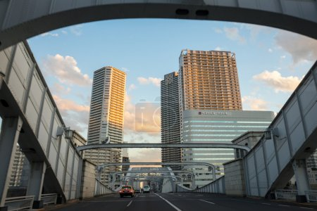Tokyo city buildings and streets