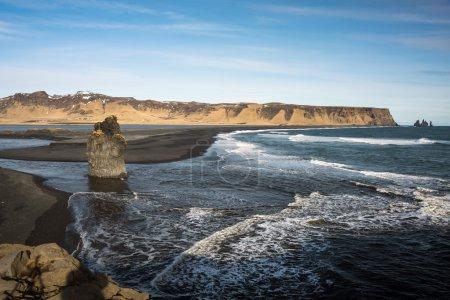 Sea-cliffs of Dyrholaey, Iceland