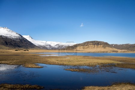 Mountains and lakes, Iceland
