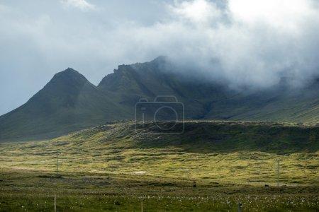 Iceland mountains landscape