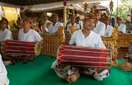 Balinese traditional music performance