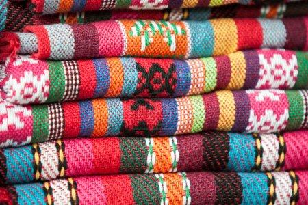 Châles colorés du peuple Yao