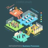 abstract office floor
