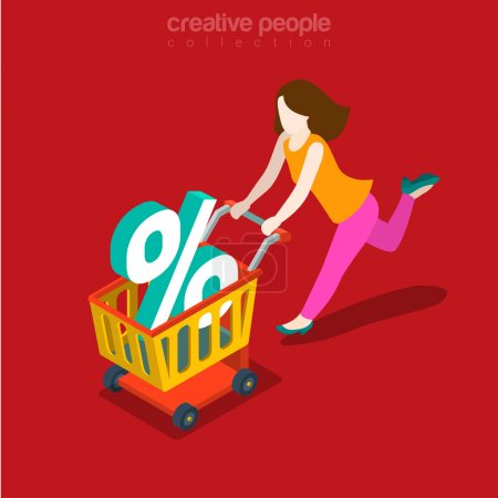 Creative people flat collection