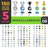 150 miscellaneous sport win misc ui icon set