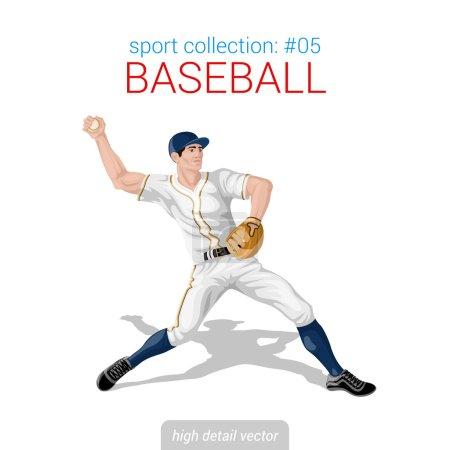 Baseball pitcher infielder
