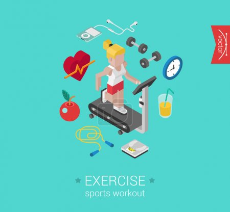 Sport exercise workout  concept