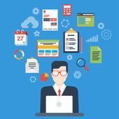 modern businessman creative process