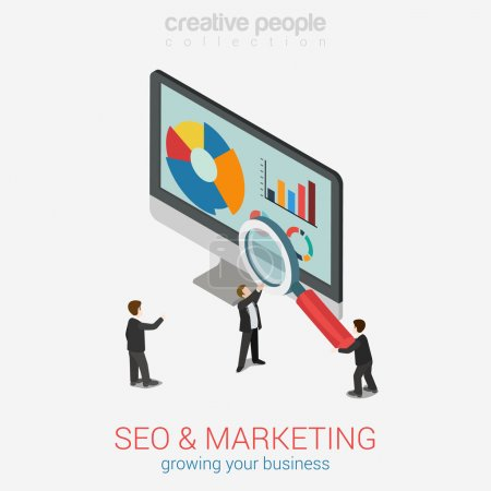 SEO marketing website analytics report