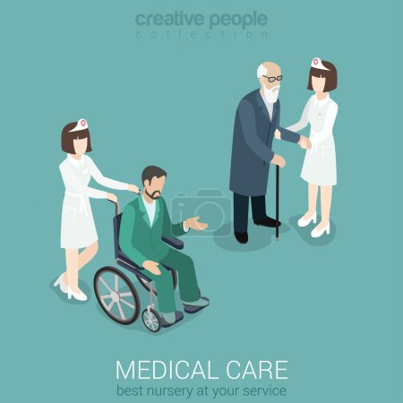 Medical  hospital staff healthcare