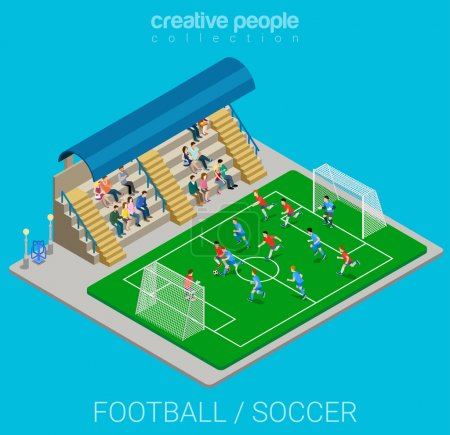 soccer stadium competition match
