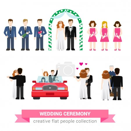 Super wedding ceremony