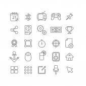 web site mobile app icons