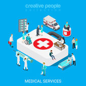 isometric medical services doctor