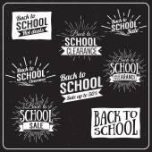 Back to School Typographic