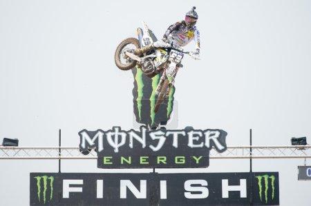 Motocross Rider Max Anstie