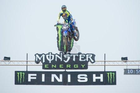 Motocross Rider Alvin Ostlund
