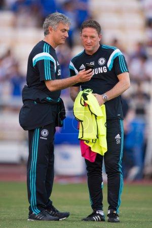 Manager Jose MourinhoLof Chelsea