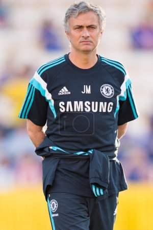 Manager Jose Mourinho of Chelsea