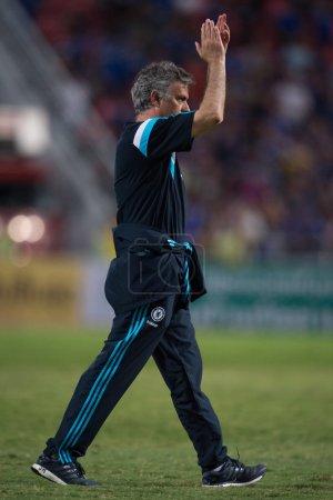 Jose Mourinho of Chelsea in