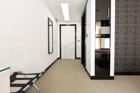 Modern apartment corridor