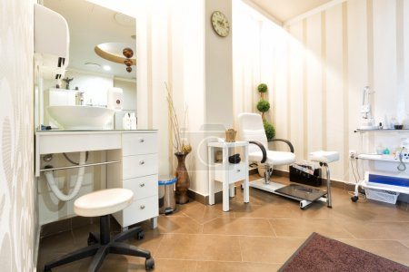 Beauty clinic interior