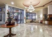 Moderní hotel lobby