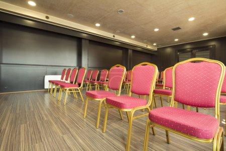 Photo pour Intérieur d'une salle de présentation - image libre de droit