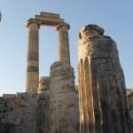 Ruins ancient Temple of Apollo Didim Turkey...